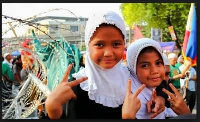 فلپائنی مسلمانوں کوداخلی خودمختاری دینے کا تاریخی بل منظور کرلیا گیا