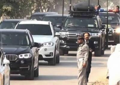 حکومتی شخصیات کی جانب سے سرکاری گاڑیوں کی واپسی کا سلسلہ شروع
