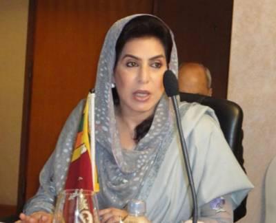 ڈاکٹر فہمیدہ مرزا کا جی ڈی اے کا حصہ بننے کا اعلان