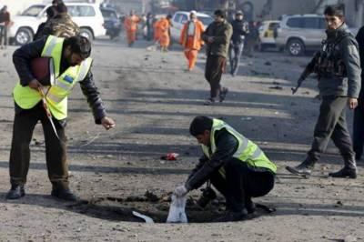 کابل میں پولی ٹیکنیک یونیورسٹی کے قریب دھماکا 8 افراد جاں بحق