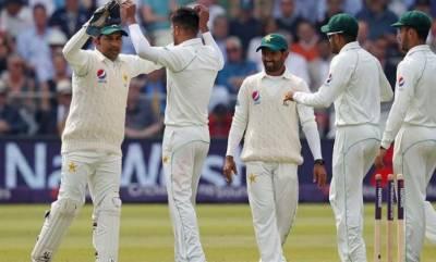 ٹیسٹ رینکنگ میں پاکستانی ٹیم ساتویں پوزیشن پر برقرار