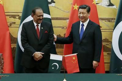 صدر ممنون حسین ، چینی ہم منصب کا دو طرفہ سٹریٹجک تعاون مضبوط بنانے پر اتفاق