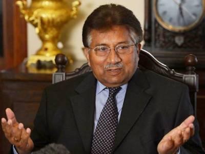 ن لیگ حکومت نے باہر جانے کی اجازت دی، پرویز مشرف