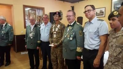 پاک فوج کے کیڈٹ نے جرمنی میں شوٹنگ مقابلہ جیت کر ریکارڈ قائم کر دیا