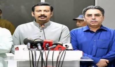 ایم کیوایم رہنماعامر خان اورفیصل سبزواری کا الیکشن نہ لڑنے کا اعلان