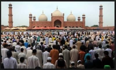 ملک بھر میں آج عید الفطر مذہبی جوش وخروش کے ساتھ منائی جارہی ہے