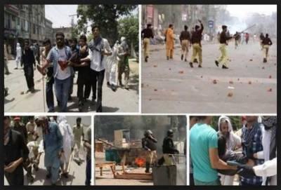 زعیم قادری سانحہ ماڈل ٹاﺅن کے نامزد ملزم شہباز شریف کا قاتل چہرہ بے نقاب کریں،خرم نواز گنڈا پور