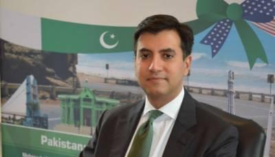 علی جہانگیر صدیقی نے ٹرمپ کو سفارتی اسناد پیش کر دیں