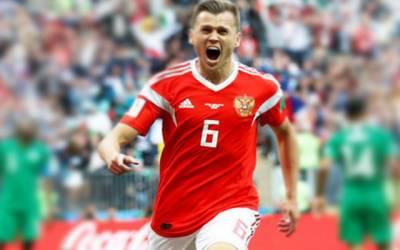 یوروگوائے نے روس کو 0-3 سے شکست دیدی