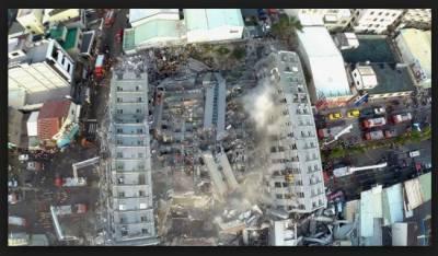 چین میں 15منزلہ ہوٹل کی عمارت دھماکاخیزمواد سے زمین بوس