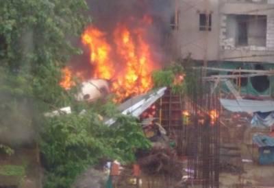 بھارت میں چارٹرڈ طیارہ گر کر تباہ، 5 افراد ہلاک