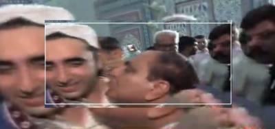 کراچی: ایک شخص کی بوسہ لینے کی کوشش پر بلاول کا اظہار ناپسندیدگی