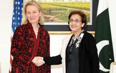 امریکی نائب وزیر خارجہ ایلس ویلزاسلام آباد پہنچ گئیں