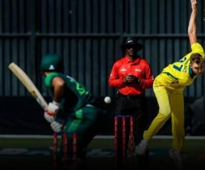 سہ ملکی ٹی 20 سیریز:پاکستان کی آسٹریلیا کو جیت کیلئے 117رنز کا ہدف