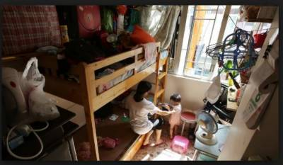 ترقی یافتہ ممالک میں ایک کمرے میں رہائش پذیر افراد کی تعداد کا تناسب 1.1فی صد رہا