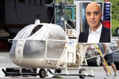 پیرس: قیدی ہیلی کاپٹر کی مدد سے جیل سے فرار