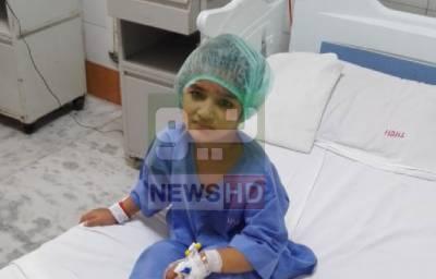 بھارت جانیوالی فیصل آباد کی 7 سالہ زینب انتقال کر گئی