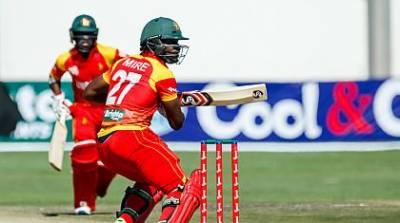 زمبابوے کا پاکستان کو جیت کیلئے 163 رنز کا ہدف