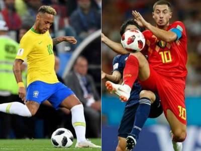 پانچ مرتبہ کی عالمی چیمپئن برازیل کی ٹیم ورلڈ کپ سے باہر