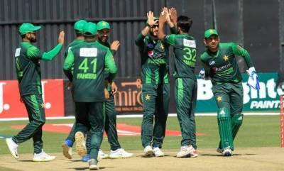 سہ ملکی سیریز : پاکستان نے اپنی پہلی پوزیشن مضبوط کر لی