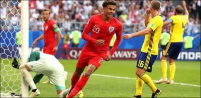فیفا ورلڈ کپ 2018: انگلینڈ سوئیڈن کو ٹھکانے لگا کر سیمی فائنل میں پہنچ گئی