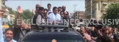 کیپٹن(ر)صفدر نے راولپنڈی میں گرفتار ی دیدی