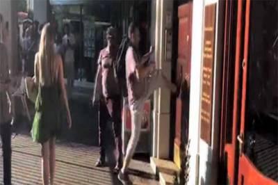 لندن میں نواز شریف کے گھر پر حملہ، دروازہ توڑنے کی کوشش