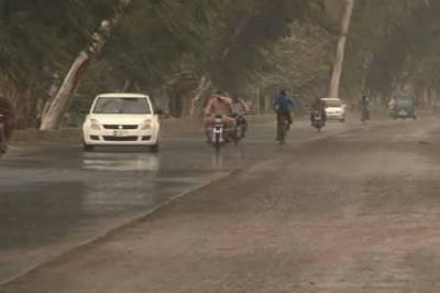 جمعرات سے اتوار تک ملک کے مختلف علاقوں میں بارشوں کا امکان