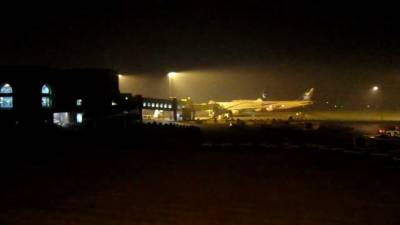 نواز شریف اور ان کی صاحبزادی کا طیارہ لاہور لینڈ کر گیا