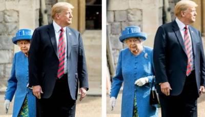 شہزادہ چارلس اور ولیم کا ٹرمپ سے ملنے سے انکار
