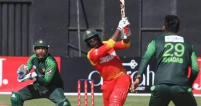 دوسرا ون ڈے: زمبابوے کا پاکستان کو 194رنز کا ہدف