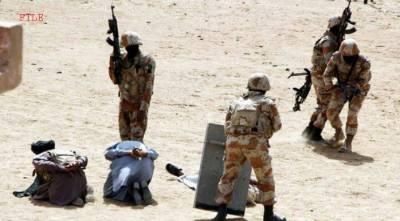 آواران میں سرچ آپریشن ، چار دہشتگرد ہلاک ، تین کو گرفتار کر لیا گیا
