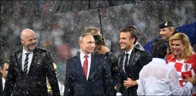 فیفا ورلڈ کپ کے دوران دو کروڑ سے زائد سائبر حملے ہوئے: ولادی میر پیوٹن