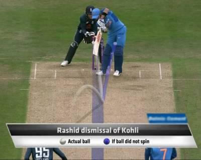 عادل رشید کی ویرات کوہلی کو نشانہ بنانے والی گیند 'نئی بال آف دی سنچری' قرار