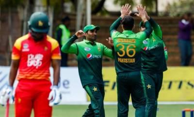 پاکستان اور زمبابوے کے درمیان چوتھا ون ڈے آج کھیلا جائے گا