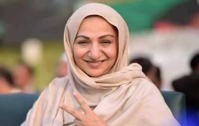 سائرہ افضل تارڑ کی زبان ایک مرتبہ پھر پھسل گئی