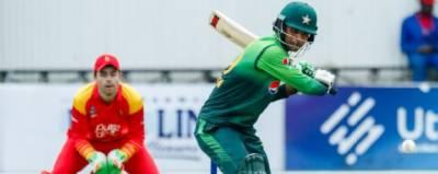 چوتھا ون ڈے:پاکستان کی تاریخ رقم،زمبابوے کو جیتنے کیلئے 400رنز کا ہدف دیدیا