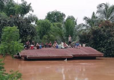 لاؤس میں زیر تعمیر ڈیم ٹوٹنے سے سینکڑوں لاپتہ، متعدد ہلاک