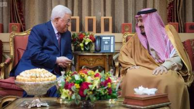 سعودی عرب نے فلسطینیوں کے لئے 8 کروڑ ڈالر کی کی امدادی رقم دیدی