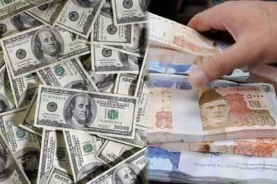 اوپن مارکیٹ میں ڈالر کی قیمت میں 5 روپے کی کمی