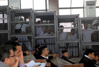 مصری عدالت نے 75 افراد کو سزائے موت سنادی