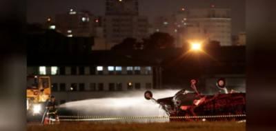برازیل، چھوٹا طیارہ گر کر تباہ، پائلٹ ہلاک