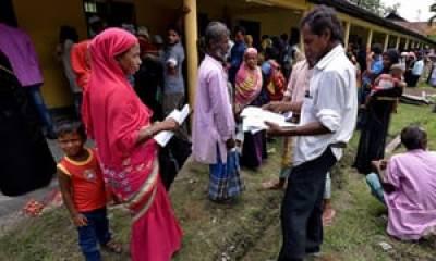 بھارت: آسام کے 40 لاکھ باشندے بھارتی شہریت سے محروم