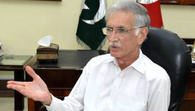 پرویز خٹک نے الیکشن کمیشن سے غیر مشروط معافی مانگ لی