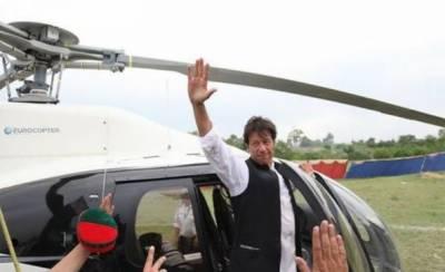 سرکاری ہیلی کاپٹر کا استعمال، نیب نے عمران خان کو طلب کرلیا