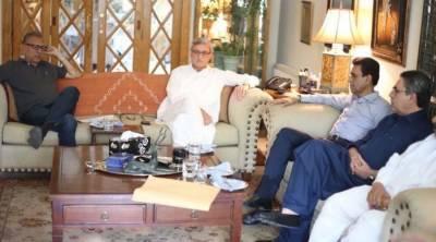 ایم کیو ایم کے وفد کی عمران خان سے پہلے جہانگیر ترین سے ملاقات