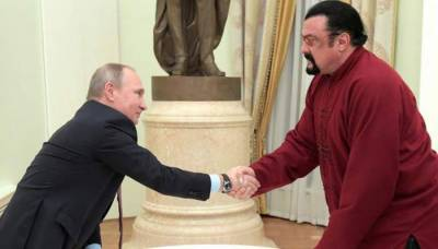 روس نے اسٹیون سیگال کو امریکا کے لئے مندوب مقرر کر دیا