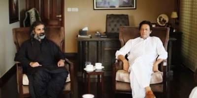 شاہ زین بگٹی کی بنی گالا میں عمران خان سے ملاقات، وزیراعظم کے لیے حمایت کا اعلان
