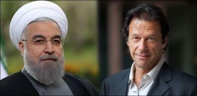 حسن روحانی کا عمران خان کو فون ، دورہ ایران کی دعوت دیدی
