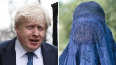 برقعے پر طنز کرنے والے بورس جانسن مشکل میں پھنس گئے